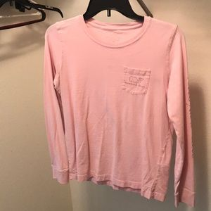vineyard vines pink long sleeve
